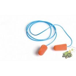 Tapones auditivos Pinkie SNR 37 con cordón caja 200 pares Safetop