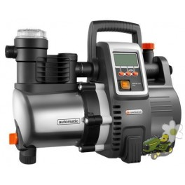 Grupo a presión electrónico 6000/5 E LCD inox Premium Gardena