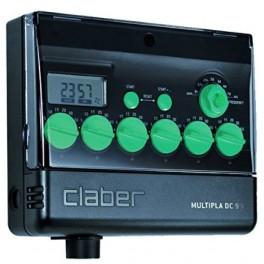 Programador de Riego electrónico MULTIPLA AC 220/24 V Con LCD
