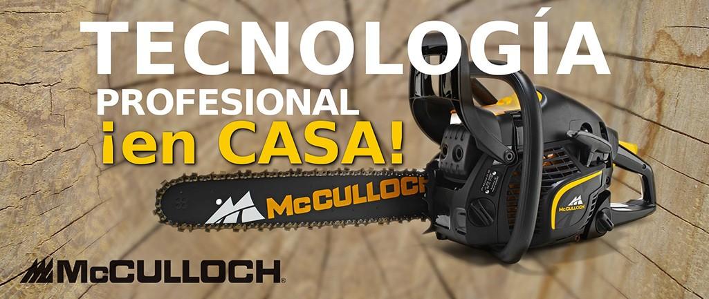 Mcculloch - Tecnología profesional en casa